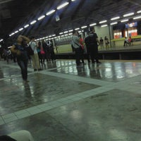 Photo taken at Yellow Line - Araneta Center-Cubao Station by Ecks A. on 6/21/2012
