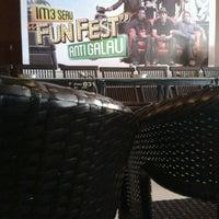 Photo taken at D'Lounge Cafe & Resto by dezty_ k. on 5/6/2012