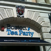 Photo taken at Boston Tea Party by Pooya on 5/13/2012