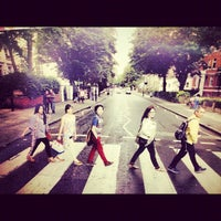 Photo taken at Abbey Road Crossing by Athina N. on 7/10/2012