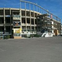 Photo taken at Estadio Manuel Martínez Valero by Sergio G. on 4/25/2012