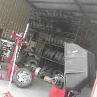 Photo taken at Falcon Tire Shop by David A. on 5/1/2012