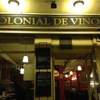 Photo taken at La Colonial de Vinos y Viandas by Jacinto C. on 3/14/2012