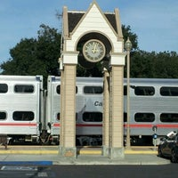 Photo taken at Menlo Park Caltrain Station by jaslene L. on 2/22/2012