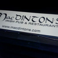 Photo taken at MacDinton's Irish Pub & Restaurant by Jeanette P. on 8/8/2012