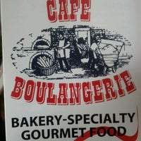 Photo taken at Cafe Boulangerie by Chris M. on 5/12/2012