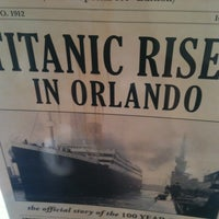 Photo taken at Titanic The Artifact Exhibition by Karen L. on 7/23/2012