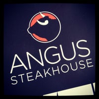 Photo taken at Angus Steakhouse by Greg C. on 4/27/2012