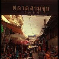 Photo taken at Samchuk Market by HuYinn on 7/28/2012