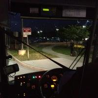 Photo taken at Megabus Stop - White Marsh Park & Ride by Rick H. on 5/7/2012