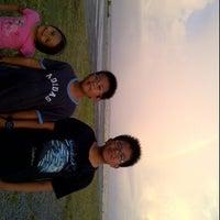 Photo taken at Pulau Layang-layang by yazurin S. on 3/15/2012