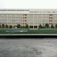 Photo taken at 현대고등학교 by John K. on 6/12/2012