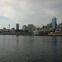 Photo taken at Seattle Ferry Terminal by Angela V. on 7/14/2012