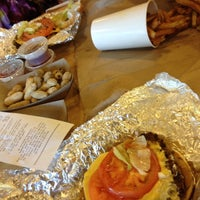 Photo taken at Five Guys by Candice S. on 4/14/2012