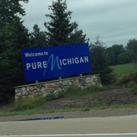 Photo taken at Michigan / Ohio State Line by Jennifer on 8/11/2012