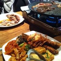 Photo taken at Shinara Grill & Lounge by Carol C. on 7/7/2012