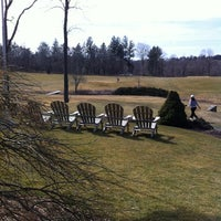 Photo taken at Newtown Country Club by Shay M. on 3/12/2012