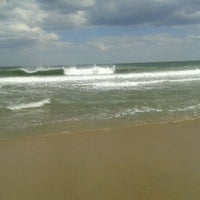 Photo taken at Asbury Park Beach by Corinne C. on 5/10/2012