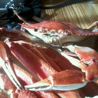 Photo taken at Captain George's Seafood Restaurant by Whitney J. on 9/5/2012