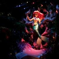 Photo taken at The Little Mermaid ~ Ariel's Undersea Adventure by Khrystina R. on 7/18/2012