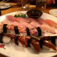 Photo taken at Sushi Zanmai by Mario T. on 8/26/2012