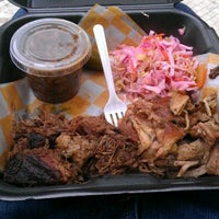 Photo taken at Curley's Q BBQ Food Truck & Catering by Brian G. on 3/30/2012