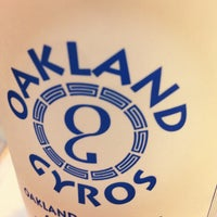 Photo taken at Oakland Gyros by Michelle S. on 6/1/2012