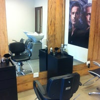 Photo taken at Sanches Hair Style by Felipe G. on 3/3/2012