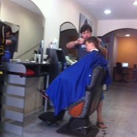 Photo taken at Ciber-Peluqueria Juanfra by Maria L. on 7/7/2012