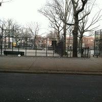 Photo taken at Hoyt Playground by @AstoriaHaiku on 3/20/2012