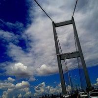Photo taken at Boğaziçi Köprüsü Gişeleri by Zeynep on 8/20/2012