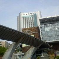 Photo taken at Soongsil University by KyungRan K. on 5/19/2012
