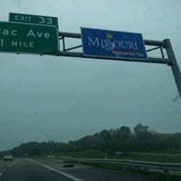Photo taken at Missouri / Illinois State Line by Alex G. on 4/4/2012