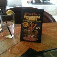 Photo taken at Rocco's Tacos and Tequila Bar by Dawn C. on 9/10/2012