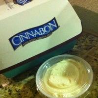 Photo taken at Cinnabon by Chris C. on 2/14/2012