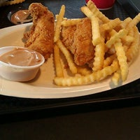 Photo taken at Raising Cane's Chicken Fingers by Jason M. on 4/13/2012