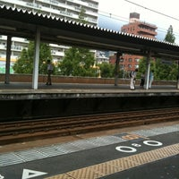 Photo taken at Rokkōmichi Station by anjarsite on 7/20/2012