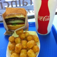 Photo taken at Rain City Burgers by Bob K. on 8/18/2012