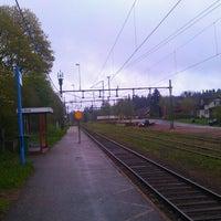 Photo taken at Borgstena station by Jonas E. on 5/18/2012