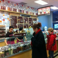 Photo taken at Marble Slab Creamery by Timothy C. on 3/17/2012