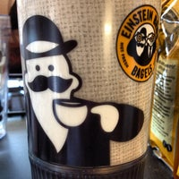 Photo taken at Einstein Bros Bagels by Tonia on 8/30/2012