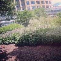 Photo taken at Prudential Center Courtyard & Garden by Jessica on 6/28/2012