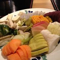 Photo taken at あきゅらいず美養品 森の食堂 by Hana on 3/10/2012
