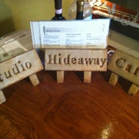 Photo taken at Hideaway Cafe by Stephanie C. on 5/12/2012