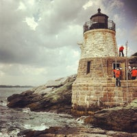 Photo taken at Castle Hill Lighthouse by Joel W. on 7/16/2012