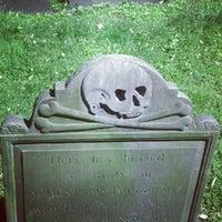 Photo taken at Granary Burying Ground by Warren D. on 6/11/2012