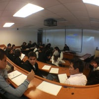 Photo taken at Escuela de Negocios y Economía by Arturo J. on 2/10/2012