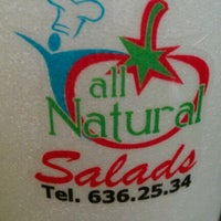 Photo taken at All Natural Salads by Nelson A. on 9/3/2012