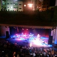Photo taken at El Genaina Theatre by Giulia C. on 8/3/2012