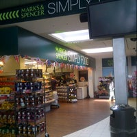 Photo taken at M&S Simply Food by Peter D. on 7/21/2012